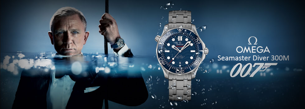 Omega Seamaster 007 Limited Edition Watch AAA+