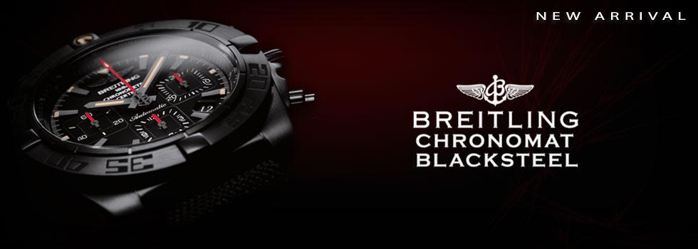 Breitling Chronomat 44 Black Steel