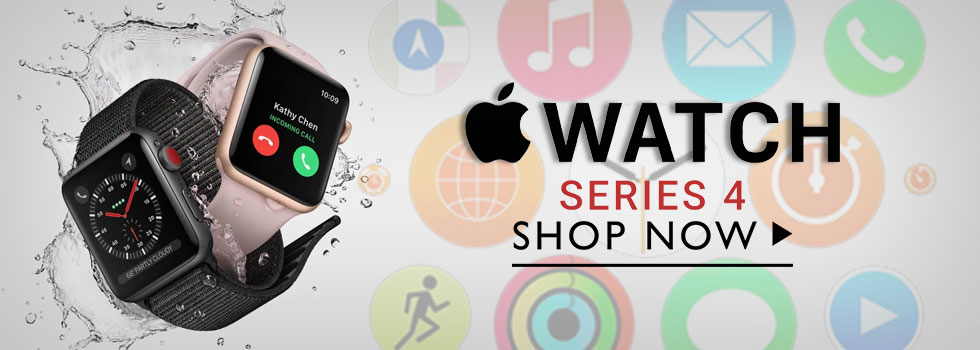 Apple IWatch Series 4 44mm Smart Watch + Fitness Tracker