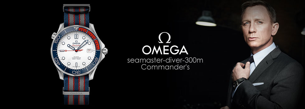 OMEGA Seamaster Commander's Limited Edition Watch