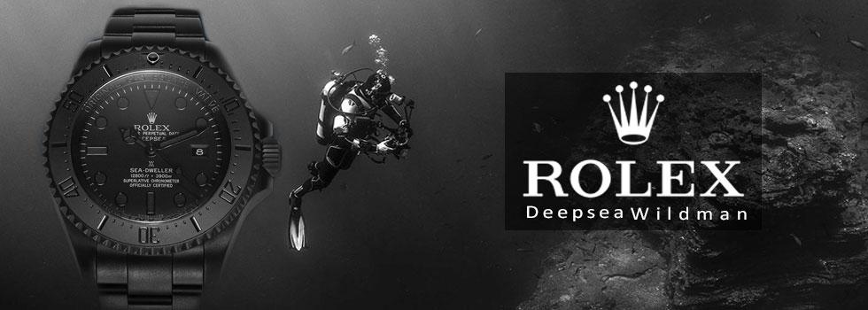 ROLEX WILDMAN DEEPSEA BLACKLOCK AAA+