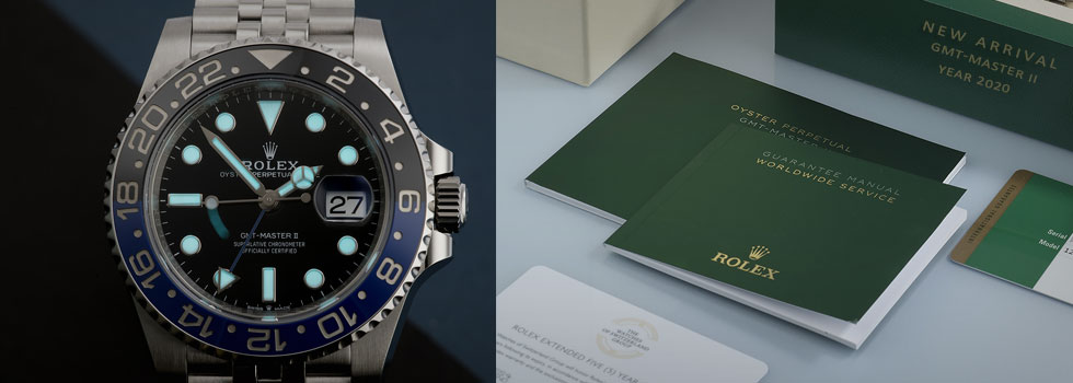Rolex GMT MASTER II Batman 2020