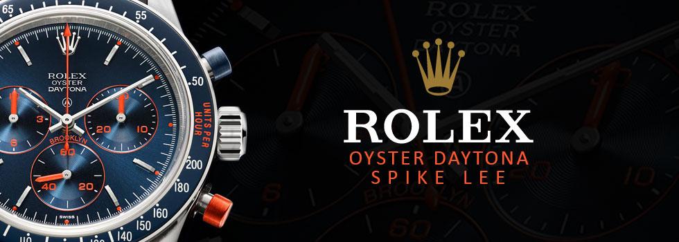 Rolex SPIKE LEE COOL HAND BROOKLYN Daytona Limited Edition