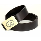 Prada Genuine Italian Leather Belt