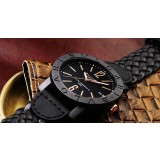 Bvlgari carbon Gold Roma 2017 Limted Edition Black  AAA+ Quality watch