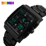 Original SKMEI men's electronic dual display Wristwatch-multifunctional watch