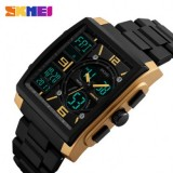 Original SKMEI men's Waterproof dual display multi-functional watch