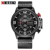CURREN Simplicity Mens Fashion Chronograph Wristwatch
