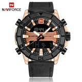 Original Naviforce Exclusive black Quartz with Complimetry Gift Box