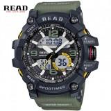 READ military sports digital Chronograph watch-Green