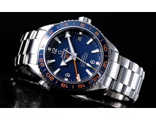 Omega SeaMaster Planet ocean GMT Exclusive Blue Dial