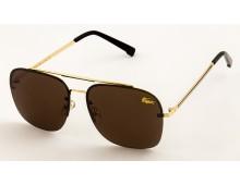 Lacoste Rimless Pilot Premium Mens Sunglasses