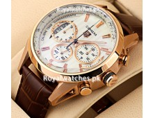 Tag Heuer Carrera calibre 1969 Rose Gold Chronograph
