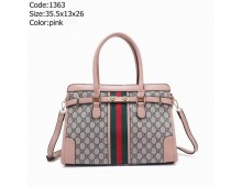 Gucci Mercer Medium Pebbled Leather Belted Satchel