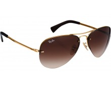 Exclusive  Ray Ban Rim-less Aviators