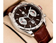 Tagheuer Grand Carrera calibre 17 brown