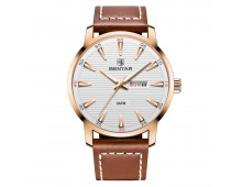 Benyar Classic day-date Mens Water Proof
