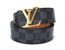 Louis Vuitton men's belt classic canvas Belt