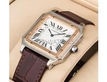 Cartier Santos Dumont Exclusive 2 tone Quartz