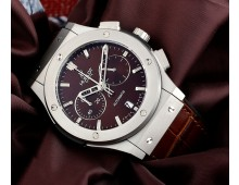 hublot classic fusion chronograph  Matt Finish Titanium Case