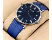 Patek philippe geneve simplicity ultra slim Exclusive Royal Blue watch