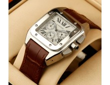 Cartier Santos Dumont Quartz Chronograph