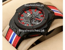 Hublot Ferrari Tribute to Racing Sports Watch