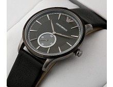 Emporio Armani Classic Grey Pattern Dial Watch AAA+