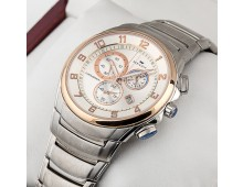 Original Heiqn Brand Classic Quartz Stainless Steel Chronograph