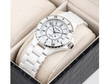 Original Heiqn Brand Classic Gents Quartz white Ceramic Rotating Bezel watch