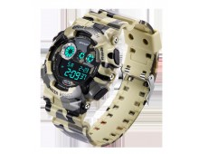 Original SANDA Military Grade Waterproof 3ATM 30m Dive LED Digital  watch