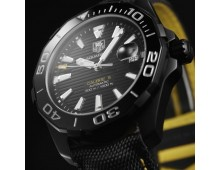 Tag Heuer Aquaracer Automatic Calibre 5 black version