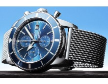 Breitling Superocean with swiss flyback chronograph