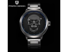 Original Pagani Design Punk 3D Skull Watch