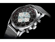 Breitling Transocean World Time chronograph