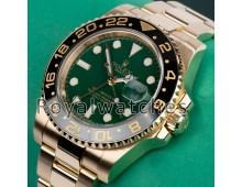 ROLEX 116718LN GMT-MASTER II YELLOW GOLD 'FULL SET'