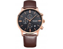 Original  MEGIR Chronograph watch Free Sanda watch