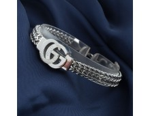 GUCCI Wristband Stainless Steel AAA++