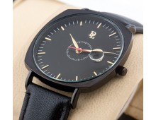 Original DL Ultra slim Watch With  Free Pair of genuine Italian Leather straps.
