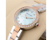 BVLGARI Soleil Lacquered Diamond Dial Ladies Watch