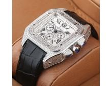 Cartier santos 100 xl chronograph Master