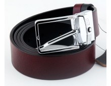 MONTBLANC Genuine Italian Leather Belt