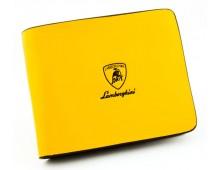 Lamborghini Leather Wallet(Haigh Quality)