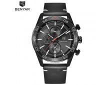 Benyar Classic Mens Quartz Waterproof watch