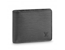 Louis Vuitton coffee Force Wallet 60223-Black