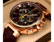 Louis Vuitton Tambour Rose Gold Plated Chronograph