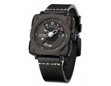 Megir Men's Square Analog Dial  Waterproof Quartz Watch
