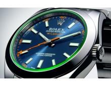 Rolex Oyster Perpetual Milgauss Z Blue Dial