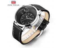 Mini Focus Brand Two Time Zone Watch