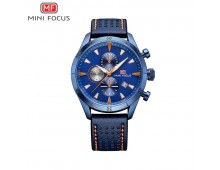Mini Focus Luxurious Royal Blue  Chronograph